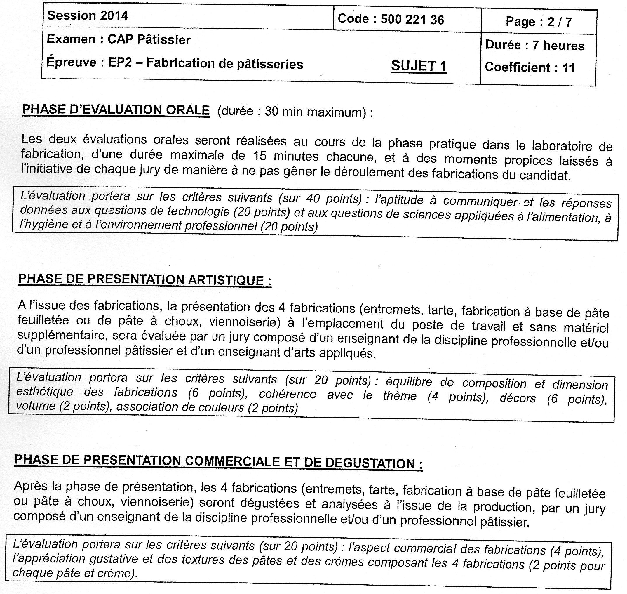 Exemple dossier ep2 cap petite enfance cz58 jornalagora - Sujet examen cap cuisine ...